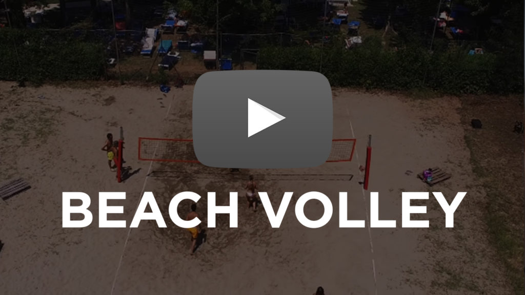 Beach volley video